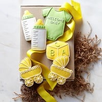 Welcome Baby Cookie Set