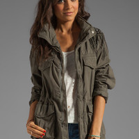 Haute Hippie Haute Hippie Military Anorak Jacket in Military from REVOLVEclothing.com