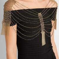 Rosantica - Silvia gold-tone beaded body chain