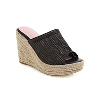 Women's Outdoor Slippers Wedges Sandals