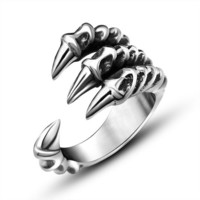 Cool Dragon Claw Ring
