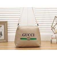"""GUCCI"" ""LV"" Casual Simple Large Capacity Letter Print Zipper Shoulder Bag Messenger Bag 3#"