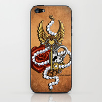 Key To My Heart iPhone & iPod Skin by Katie Simpson   Society6