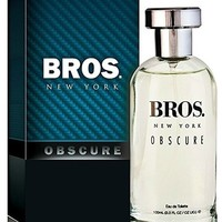 Bros. New York Obscure Eau De Toilette  Perfume for Men, 3.3 Ozl - Scent Similar to Bottled Night by Boss