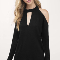 Alia Cold Shoulder Sweater