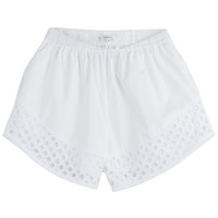 Carven - Cotton Shorts with Cut-Out Detail