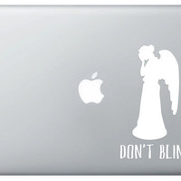 """Dr. Who """"Weeping Angel"""" Vinyl Decal"""