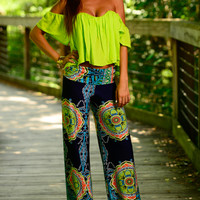 Double Trouble Pants, Navy