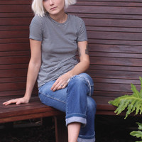 Rampling Tee in Picasso Stripe