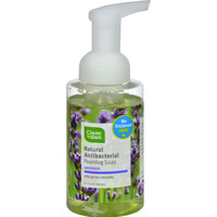 CleanWell All-Natural Antibacterial, Foaming Hand Wash, Lavender Absolute - 9.5 fl oz