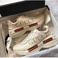 GUCCI Fashionable leisure shoes-2