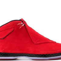 "AIR JORDAN 18 Retro, ""Red Suede"""