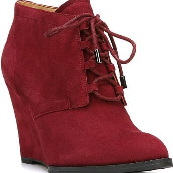 Franco Sarto Lennon Wedge Booties | Dillards