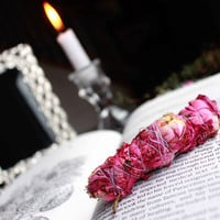 "3"" Rose Smudge Stick"