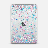 Girly Confetti Explosion Transparent iPad Mini 1/2/3 case by Organic Saturation   Casetify
