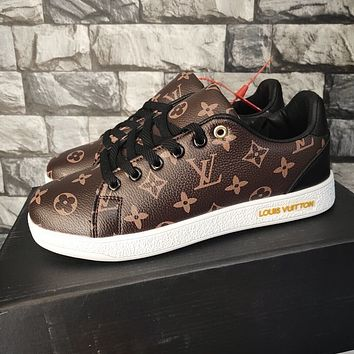 LV Louis vuitton LV sneakers all-match casual shoes men and women fashion casual sports shoes