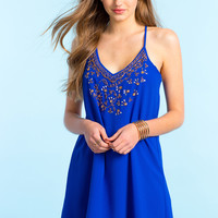 Chelsea Beaded Shift Dress