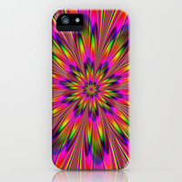 Trippy Trips iPhone Case by Glanoramay