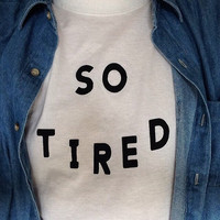 So tired white tshirt for women tshirts shirts shirt top