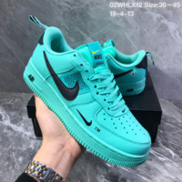 HCXX N1380 Nike Air Force 1 AF1 Dumr Casual Fashion Low Skate Shoes Green Black