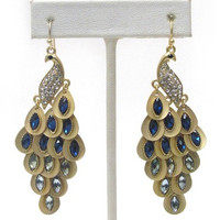 Fashion SALE: Amazing Dangle Vintage Style Peacock Earrings
