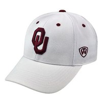 Licensed Oklahoma Sooners Size 7 Fitted NCAA Dynasty Memory Fit Hat 514789 KO_19_1