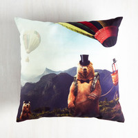 Woodland Creature Eccentric Relaxation Pillow by ModCloth