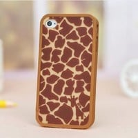 Lewire Giraffe Plastic Detachable Protective Anchor Phone Case For iPhone 5/5s