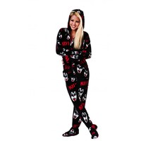 Buy KISS Dr. Love Hooded Onesuits Online   World's Best Pajamas