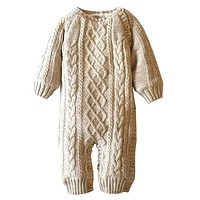 Kids clothes Winter Baby Romper Cotton Plus Velvet Warm Born Baby Clothes born Infant Clothing Toddler Costume