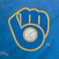 Milwaukee Brewers - Cooperstown Distressed