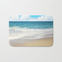 beach vibes Bath Mat by sylviacookphotography