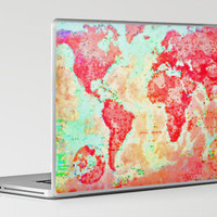 Oh, The Places We'll Go... Laptop & iPad Skin by Ally Coxon | Society6