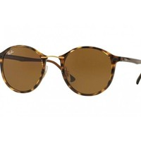 sunglasses Ray Ban RB4242 havana brown ROUND II LIGHT Ray 710/73