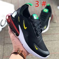 NIKE Air Max Fashion New hook print mesh leisure sports running air cushion men shoes