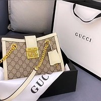 Gucci Padlock GG shoulder bag shoulder bag crossbody bag