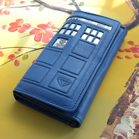 Doctor Who 4.0 Tardis Wallet RFID Protection
