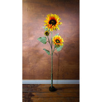 LARGE SUNFLOWER ON STAND
