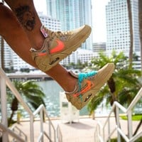 Nike x Off-White Air Max 90 OW Running shoes for leisure sports