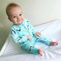 Winter Baby Rompers Boys Girls Jumpsuit Climbing Clothes Baby Boy Girl's Wear Pajamas Sleepers Overalls Outfits Toddler Clothing