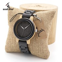 BOBO BIRD Timepieces Couples Wood Watch