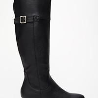 FOREVER 21 City-Chic Wedge Boots