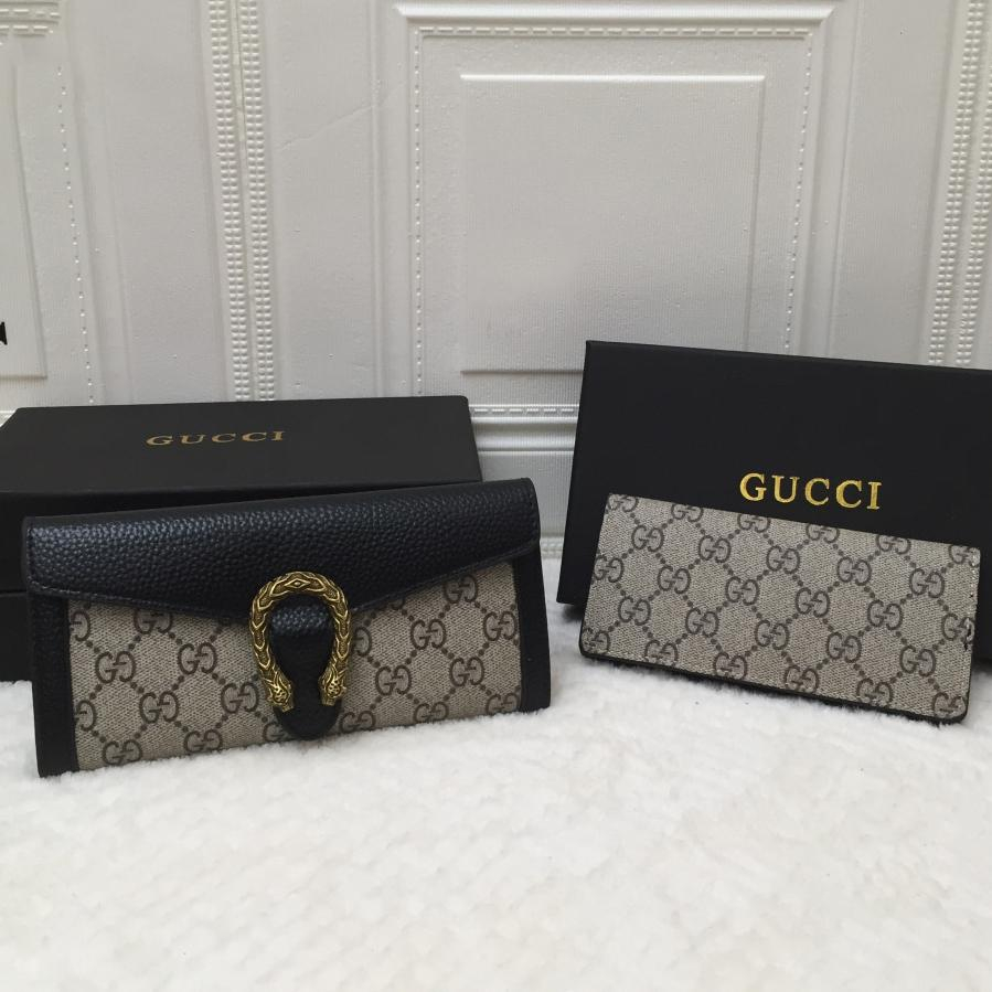 Image of Dior GG Women's Long Wallet Two-Piece Set