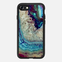 iPhone 7 Case (Jet Black), Agate by lescapricesdefilles | Casetify (iPhone 6s 6 Plus SE 5s 5c & more)