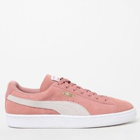Puma Women's Pink Suede Classic Sneakers at PacSun.com