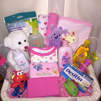 Baby Girl Bridal Showe Basket
