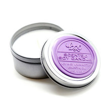 B20 Scented Soy Candle. Lavender. Massage Moisturizer Candle. Vegan. Shea butter.