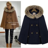 Scarf Winter England Style Ladies Hats Jacket [196916576282]