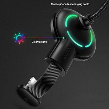 Mobile game data cable Android Type-c suction cup data cable does not block the hand fast charging cable Razer series Stockings Shoes Dress Bikini bag