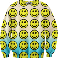 ☮♡ Smiley Hashtag Sweater ✞☆